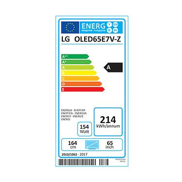 LG OLED65E7V pas cher