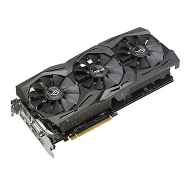 ASUS ROG STRIX AMD Radeon RX 580 TOP edition 8Go