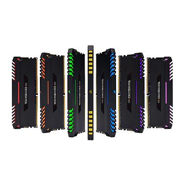 Corsair Vengeance RGB Series 32 Go (4x 8 Go) DDR4 3000 MHz CL15 pas cher