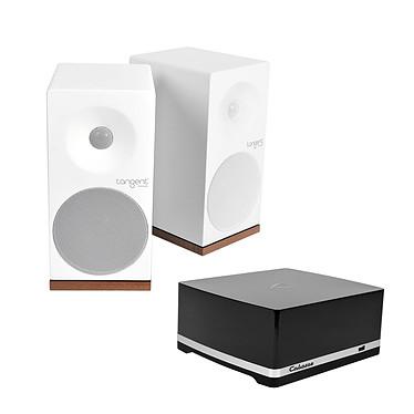 Cabasse Stream AMP 100 + Tangent Spectrum X5 Blanc
