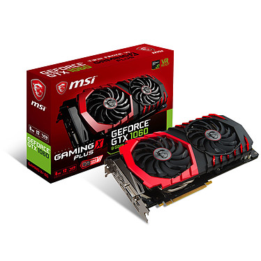 MSI GeForce GTX 1060 GAMING X+ 6G