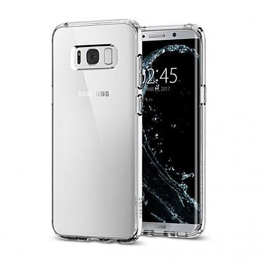 Spigen Case Ultra Hybrid Transparent Galaxy S8+ Coque de protection pour Samsung Galaxy S8+