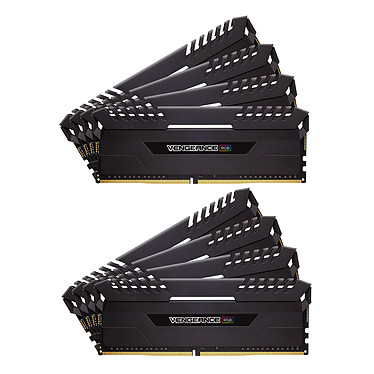 Corsair Vengeance RGB Series 64 Go (8x 8 Go) DDR4 2666 MHz CL16