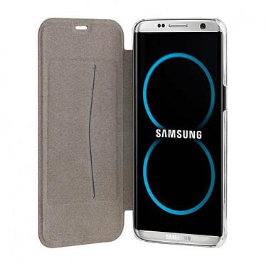 Acheter xqisit Etui Flap Cover Adour Noir Samsung Galaxy S8+