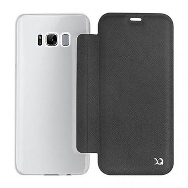 Avis xqisit Etui Flap Cover Adour Noir Samsung Galaxy S8+