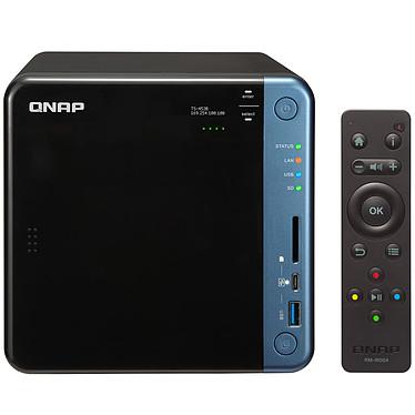 QNAP TS-453B-8G Serveur NAS 4 baies avec 8 Go de RAM et processeur Quad-Core Intel Celeron J3455 1.5GHz (sans disque dur)
