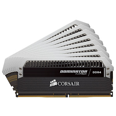 Corsair Dominator Platinum 64 Go (8x 8 Go) DDR4 4000 MHz CL19