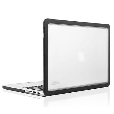 """STM Dux MacBook Pro Retina 13"""" Noir Coque intégrale en polycarbonate pour MacBook Pro Retina 13"""""""