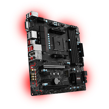 Avis Kit Upgrade PC AMD Ryzen 5 1600 MSI B350M MORTAR 8 Go