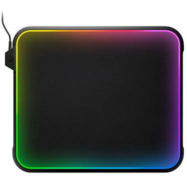 SteelSeries QcK Prism Tapis de souris en tissu/polymère avec rétro-éclairage multicolore personnalisable pour gamer