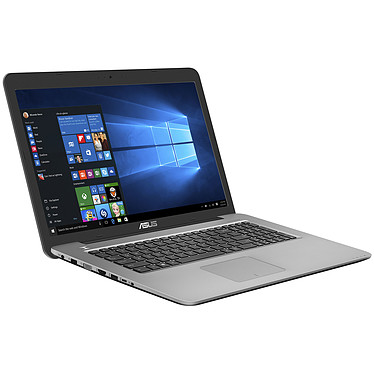 "ASUS R753UQ-T4285T Intel Core i7-7500U 8 Go SSD 128 Go + HDD 1 To 17.3"" LED Full HD NVIDIA GeForce 940MX Graveur DVD Wi-Fi AC/Bluetooth Webcam Windows 10 Famille 64 bits (garantie constructeur 2 ans)"
