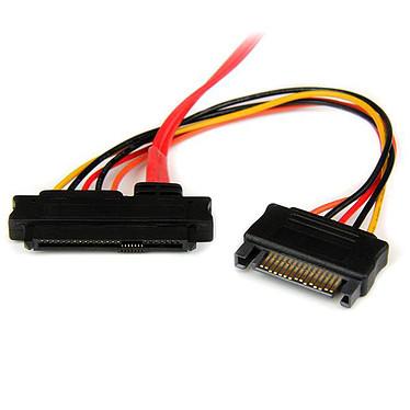 Avis StarTech.com Câble mini SAS vers 4x Alimentation SATA et 4x SAS - 50 cm