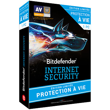 Bitdefender Internet Security Edition limitée Protection à vie - 1 Poste