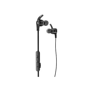 Monster iSport Achieve Bluetooth negro Auriculares internos deportivos Bluetooth con control remoto y micrófono compatible con iOS