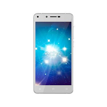 "Echo Star Plus Argent Smartphone 4G-LTE Dual SIM - MediaTek MT6737 Quad-core 1.3 GHz - RAM 3 Go - Ecran tactile 5"" 720 x 1280 - 16 Go - Bluetooth 4.0 - 2500 mAh - Android 7.0"