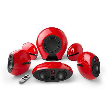 Edifier e255 Luna E Rouge Ensemble home cinéma sans fil 5.1 Dolby Digital / DTS