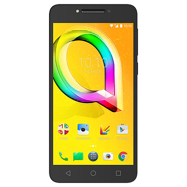 "Alcatel A5 LED Noir · Occasion Smartphone 4G LTE - MediaTek MT6753 8-Core 1.5 GHz - RAM 2 Go - Ecran tactile 5.2"" 720 x 1280 - 16 Go - Bluetooth 4.1 - 2800 mAh - Android 6.0 - Article utilisé, garantie 6 mois"