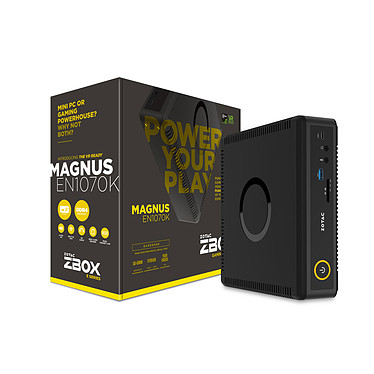 ZOTAC ZBOX MAGNUS EN1070K Intel Core i5-7500T GeForce GTX 1070 Wi-Fi AC / Bluetooth 4.2 (sans écran/mémoire/disque dur)
