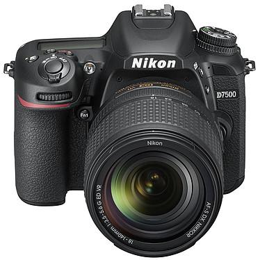 """Nikon D7500 + AF-S DX NIKKOR 18-140mm VR Réflex Numérique 20.9 MP - Ecran inclinable 3.2"""" - Vidéo Ultra HD - Wi-Fi"""