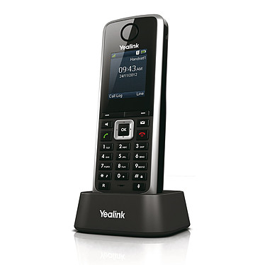 Yealink W52H Combiné supplémentaire pour téléphone sans fil DECT SIP Yealink W52H