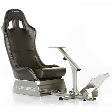 playseat evolution noir volant pc playseat sur. Black Bedroom Furniture Sets. Home Design Ideas