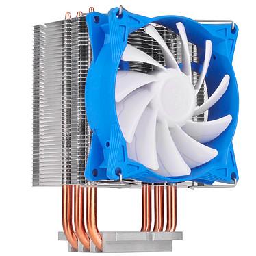 SilverStone Argon AR08 V2 Ventilateur de processeur (pour Socket Intel 775/1150/1151/1155/1156/1366/2011et AMD AM2/AM3/AM4/FM1/FM2)