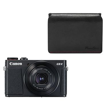 Canon PowerShot G9 X Mark II Noir + DCC-1890
