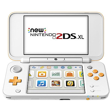 Nintendo New 2DS XL (Blanc/Orange)