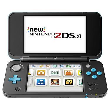 Nintendo New 2DS XL (Noir/Turquoise) Console de jeux-vidéo portable tactile à deux écrans larges