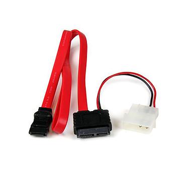 StarTech.com SLSATAF20 Conector Slim Sata a SATA (datos + alimentación)