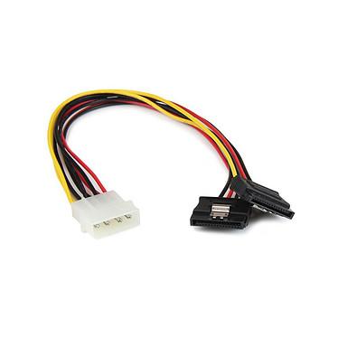 StarTech.com PYO2LP4LSATA Câbled'alimentation Molex vers double SATA