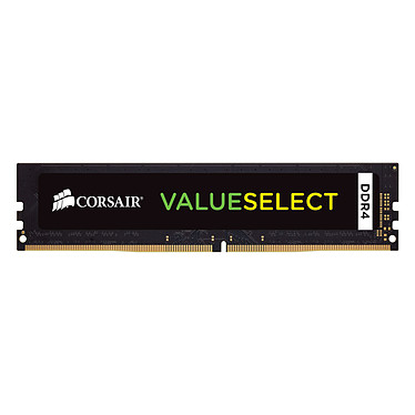 Corsair ValueSelect 4 Go DDR4 2400MHz CL16 RAM DDR4 PC4-19200 - CMV4GX4M1A2400C16 (garantie à vie par Corsair)