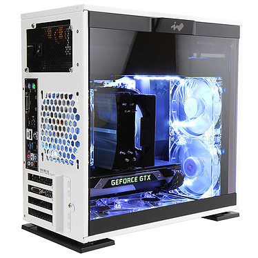 IN WIN 301 Blanc 450W 80PLUS Bronze pas cher