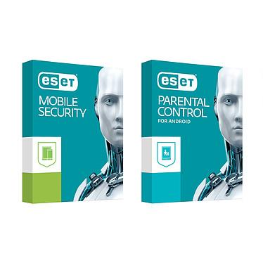 ESET Mobile Security Premium + Parental Control  - 1 an 3 postes (Android) Antivirus + contrôle parental - Licence 1 an 3 postes (Français, Android)