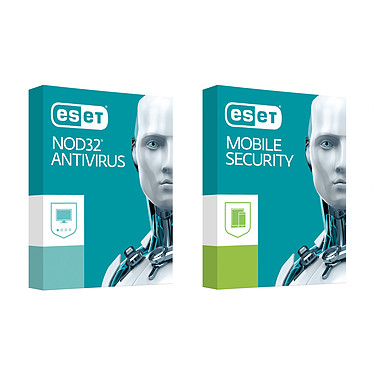 ESET NOD32 Antivirus 2017 + Mobile Security
