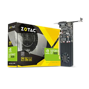 ZOTAC GeForce GT 1030 2GB GDDR5 2048 Mo DVI/HDMI - PCI Express (NVIDIA GeForce avec CUDA GT 1030) Low Profile