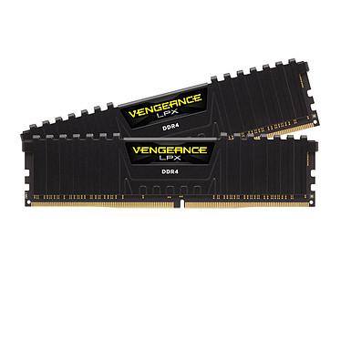Corsair Vengeance LPX Series Low Profile 32 Go (2 x 16 Go) DDR4 3600 MHz CL20 Kit Dual Channel 2 barrettes de RAM DDR4 PC4-28800 - CMK32GX4M2Z3600C20