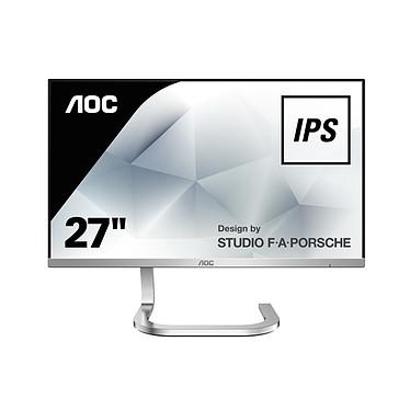 "Opiniones sobre AOC Design by STUDIO F.A PORSCHE 27"" LED - PDS271"