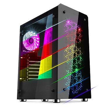 Spirit of Gamer Rogue IV (RGB) Caja Medium Tower negra y RGB con ventana de vidrio templado