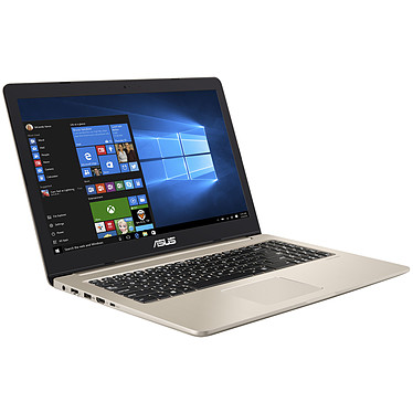 "ASUS VivoBook Pro N580GD-FI028T Intel Core i7-8750H 16 Go SSD 256 Go + HDD 1 To 15.6"" LED Ultra HD NVIDIA GeForce GTX 1050 4 Go Wi-Fi AC/Bluetooth Webcam Windows 10 Famille 64 bits (Garantie constructeur 2 ans)"