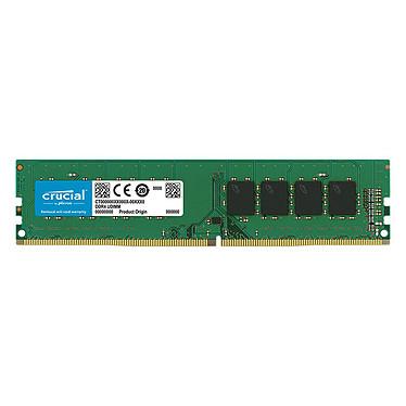 Crucial DDR4 16 Go 2666 MHz CL19 Dual Rank X8 RAM DDR4 PC4-21300 - CT16G4DFD8266