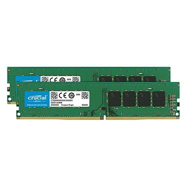 Crucial DDR4 32 Go (2 x 16 Go) 2666 MHz CL19 Dual Rank X8 Kit Dual Channel RAM DDR4 PC4-21300 - CT2K16G4DFD8266