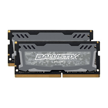 Ballistix SO-DIMM DDR4 16 Go (2 x 8 Go) 2666 MHz CL16