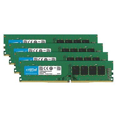 Crucial DDR4 32 Go (4 x 8 Go) 2666 MHz CL19 SR X8
