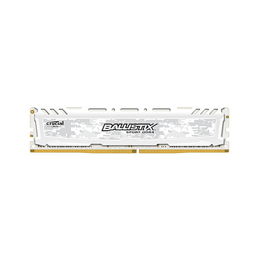 Ballistix Sport LT 8 Go DDR4 2666 MHz CL16 DR RAM DDR4 PC4-21300 - BLS8G4D26BFSC (garantie 10 ans par Crucial)