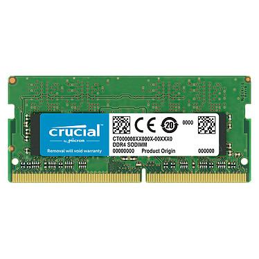 Crucial SO-DIMM DDR4 8 Go 2666 MHz CL19 SR X8 RAM DDR4 PC4-21300 - CT8G4SFS8266 (garantie 10 ans par Crucial)
