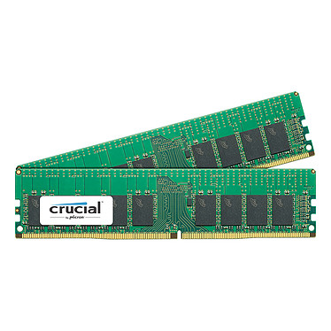 Crucial DDR4 ECC Registered 32 Go (2 x 16 Go) 2666 MHz CL19 SR X4