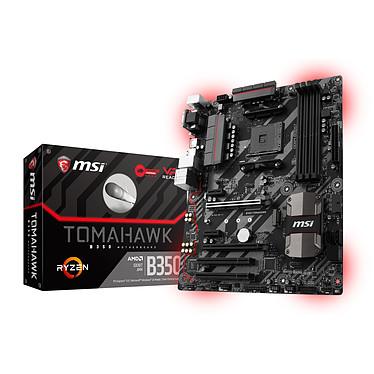 Avis AMD Ryzen 7 1700X (3.4 GHz) + MSI B350 TOMAHAWK