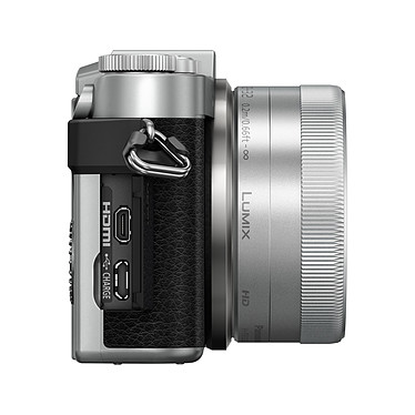 Avis Panasonic Lumix DC-GX800 Argent + 12-32 mm