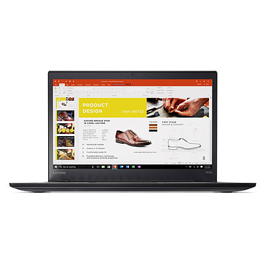 "Lenovo ThinkPad T470s (20HF0047FR) Intel Core i7-7500U 8 Go SSD 256 Go 14"" LED Full HD Wi-Fi AC/Bluetooth Webcam Windows 10 Professionnel 64 bits"